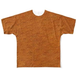 タイルA Full graphic T-shirts