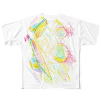 道のノネズミT Full graphic T-shirts