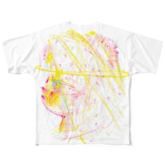 ヴェールのくまさんT Full graphic T-shirts