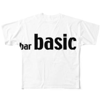 basic Tshirt フルグラフィックTシャツ