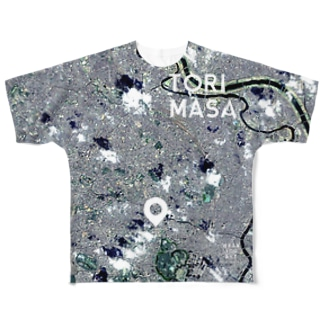 東京都 千代田区 Tシャツ 両面 Full graphic T-shirts