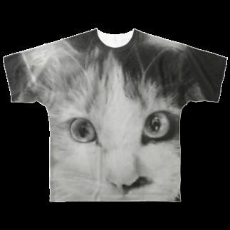 myujiのTAMA フルグラフィツシャツ Full graphic T-shirts
