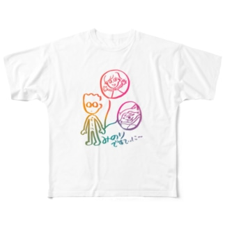 TOMO Design Full graphic T-shirts