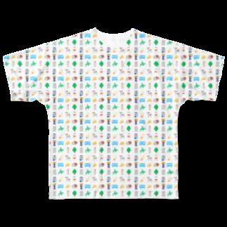 牛乳だいすき!のMilk project!_ver3 Full graphic T-shirts