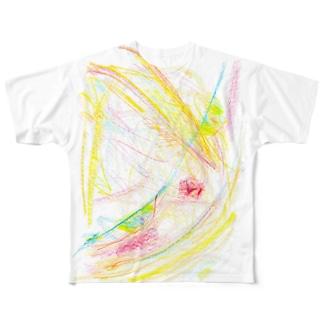 すねりすT Full graphic T-shirts