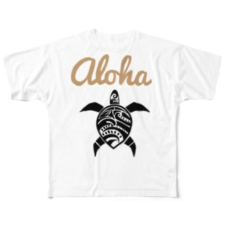 Honu Full graphic T-shirts