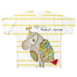 ROBOBO 福ちゃんロボ(14) Full graphic T-shirts