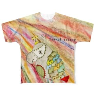 ROBOBO 福ちゃんロボ④ Full graphic T-shirts