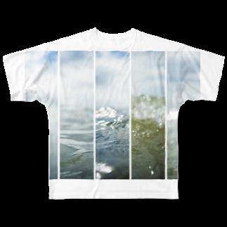 やすいきしょーの「wave」 Full graphic T-shirts