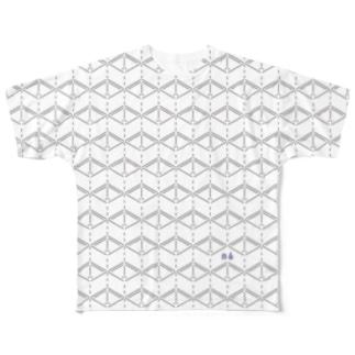 MASUまみれ Full graphic T-shirts