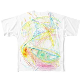 ねこじゃらしT Full graphic T-shirts