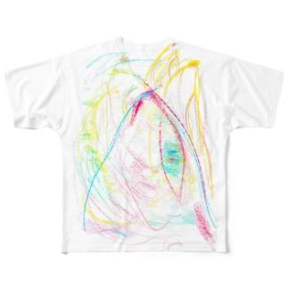 群T Full graphic T-shirts