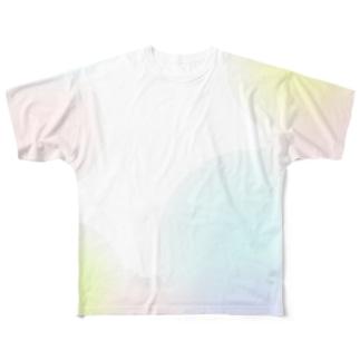 水彩 Full graphic T-shirts