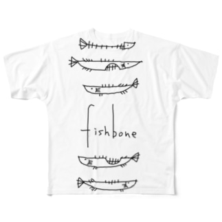 fishbone  Full graphic T-shirts
