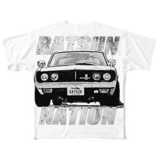 RATSUN NATION  vol.1 Full graphic T-shirts