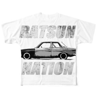 RATSUN NATION Vol.2     Full graphic T-shirts