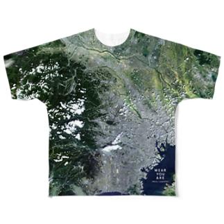 埼玉県 入間市 Tシャツ 片面 Full graphic T-shirts
