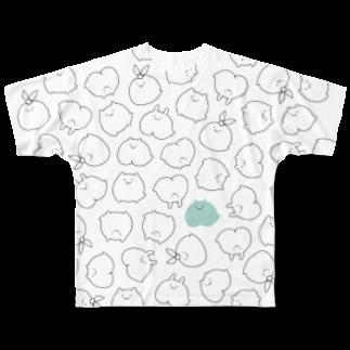 モチリズムのなかまモチ Full graphic T-shirts