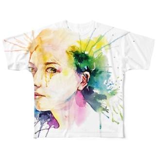 Tシャツ Full graphic T-shirts