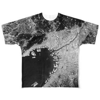 兵庫県 西宮市 Tシャツ 両面 Full graphic T-shirts