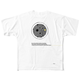 NIM:DOT#001 Full graphic T-shirts