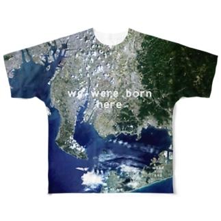 愛知県 西尾市 Tシャツ 片面 Full graphic T-shirts