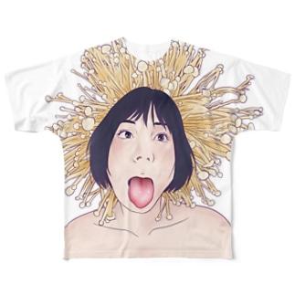 えのき フルグラフィックTシャツ