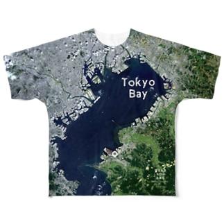 千葉県 君津市 Tシャツ 片面 Full graphic T-shirts