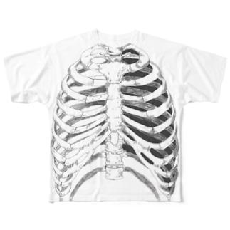 骨 Full graphic T-shirts