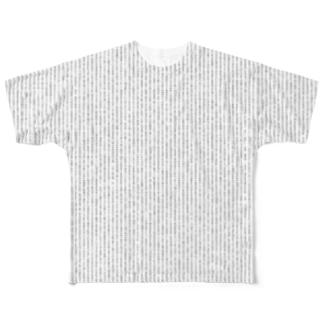 科挙用カンニング Full graphic T-shirts