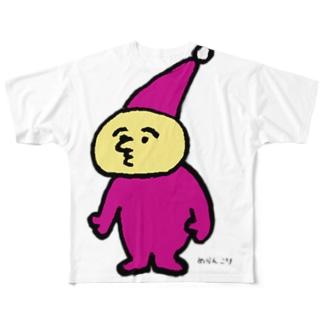 ようせいさん フルグラフィックTシャツ