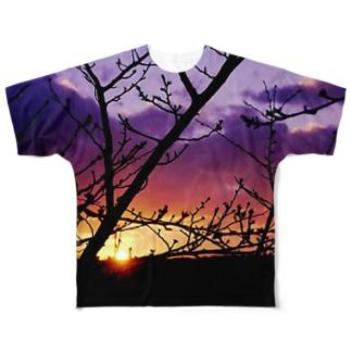 千秋苑から Full graphic T-shirts