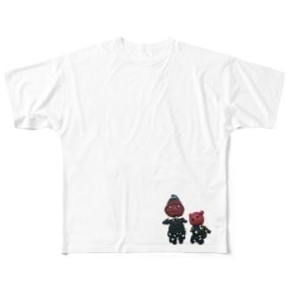 かずちゃんふれんず Full graphic T-shirts