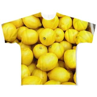 レモン Full graphic T-shirts
