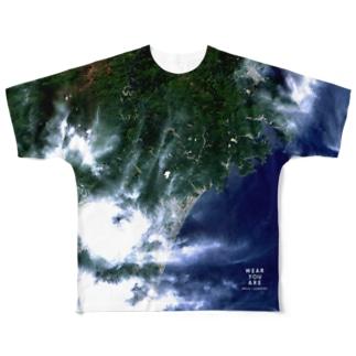 三重県 熊野市 Tシャツ 両面 Full graphic T-shirts
