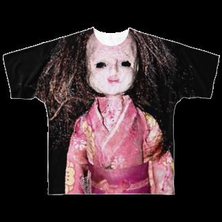 縺イ縺ィ縺ェ縺舌j縺薙¢縺のンヌグムのお母さん Full graphic T-shirts