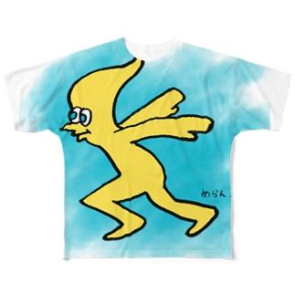 トニィ フルグラフィックTシャツ