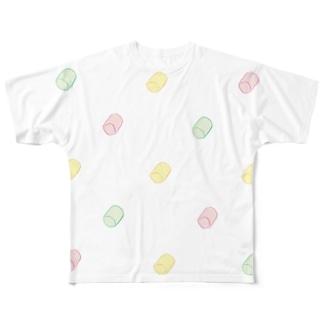 フルーツマシュマロ艦隊 Full graphic T-shirts