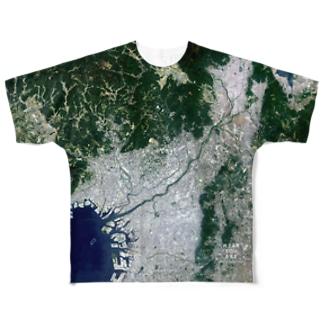 大阪府 吹田市 Tシャツ 両面 Full graphic T-shirts
