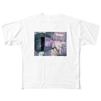 出口 Full graphic T-shirts