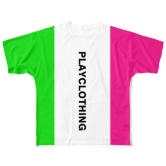 SIDE 2 COLOR NO.4 Full graphic T-shirts