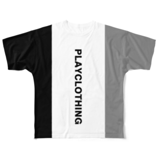 PLAY clothingのSIDE 2 COLOR NO.5 Full graphic T-shirts