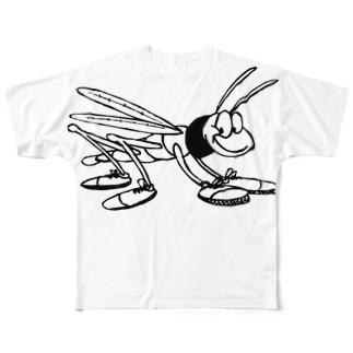 イナゴ inago  Full graphic T-shirts