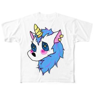 ゆにこーん🦄 Full graphic T-shirts