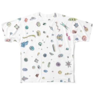 微生物まつり フルグラフィックTシャツ