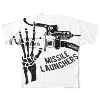Missile Launchers(Black) Full graphic T-shirts