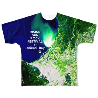 WEAR YOU AREの北海道 小樽市 Tシャツ 両面 Full graphic T-shirts