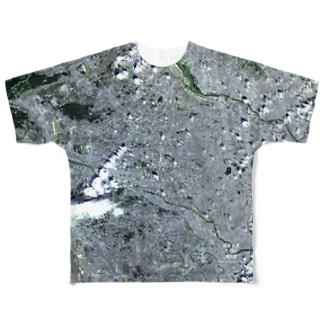 東京都 三鷹市 Tシャツ 両面 Full graphic T-shirts