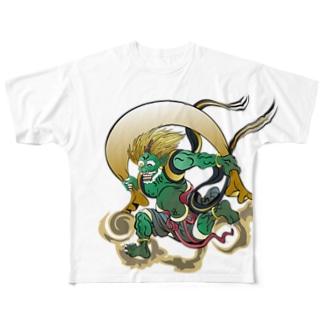 fuujin Full graphic T-shirts
