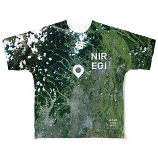 栃木県 鹿沼市 Tシャツ 両面 Full graphic T-shirts